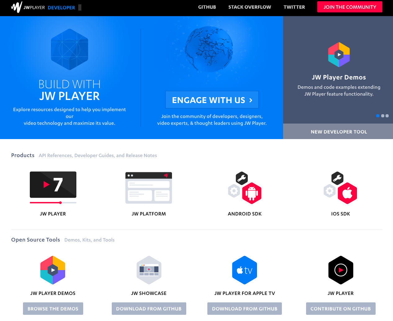 Announcing the JW Player Developer Portal | JW Player
