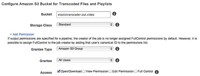 Encoding HLS with Amazon Elastic Transcoder | JW Player